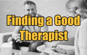 Finding a Good Therapist