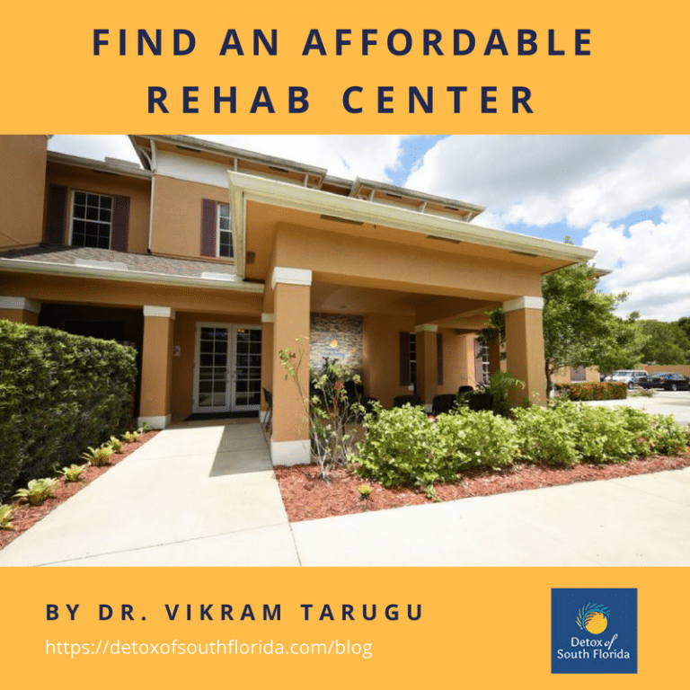 Find an Affordable Rehab Center.