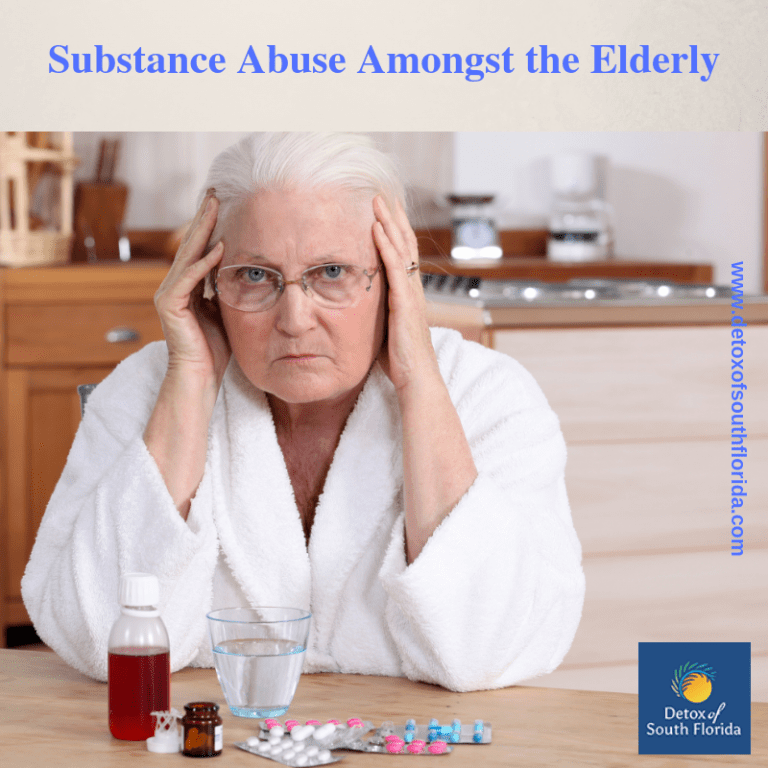 Substance Abuse Amongst the Elderly