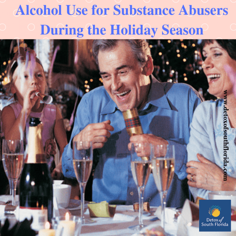 Alcohol Use for Substance Abusers During the Holiday Season