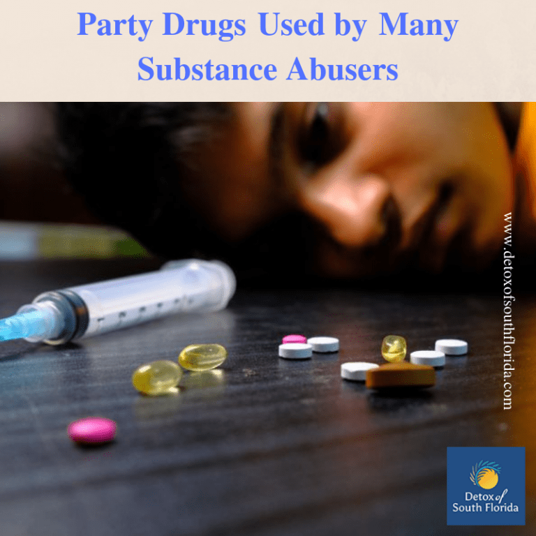 Party Drugs used by many Substance Abusers