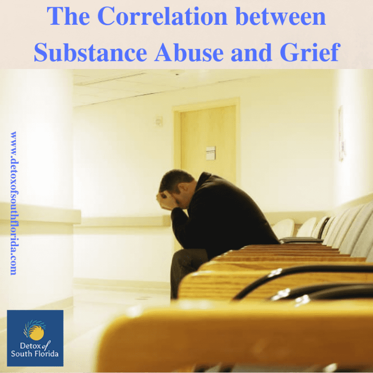 The Correlation between Substance Abuse and Grief