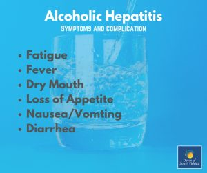 Alcoholic Hepatitis Symptoms and Complications