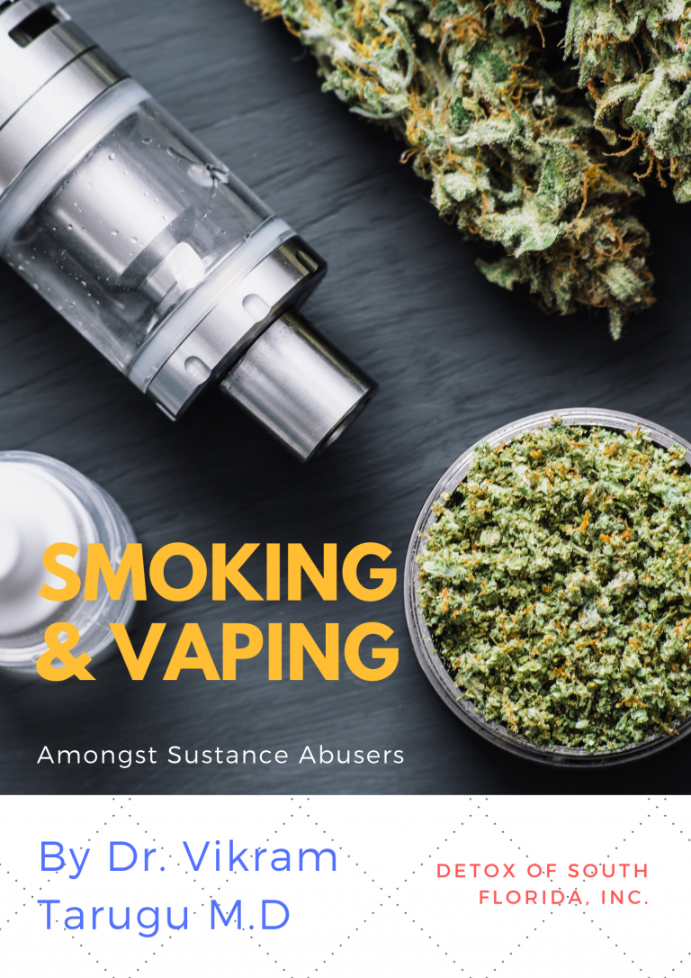 smoking and vaping amongst substance abusers