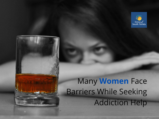 Many Women Face Barriers While Seeking Addiction Help