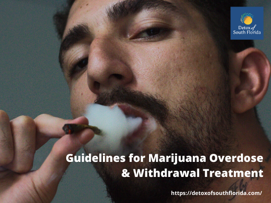 Guidelines for Marijuana Overdose & Withdrawal Treatment (1)